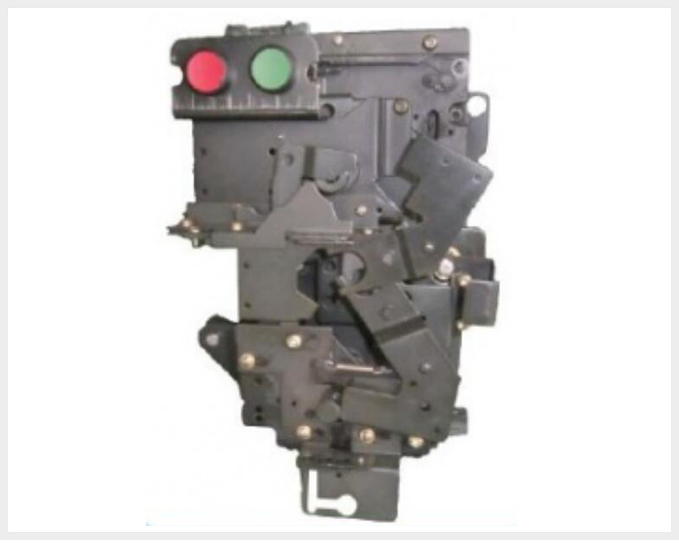 GIS three-position outlet switch 's manually-operated mechanism MKJ-010